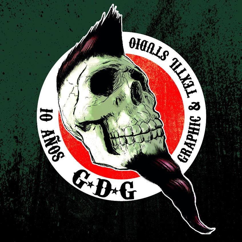 GDG 10 años logo