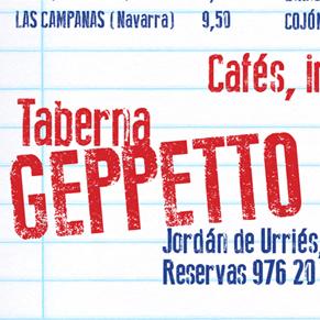 Geppetto cartas comedor
