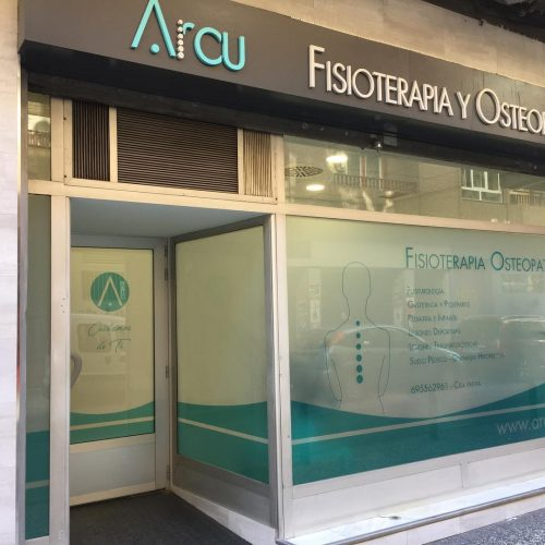 arcu fisioterapia escaparate