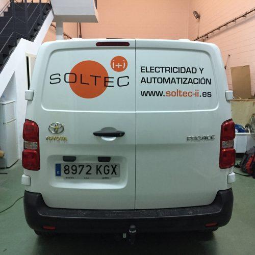 soltec rotulación furgonetas